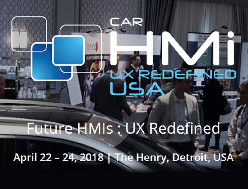 Only a few days left to Car HMI USA!