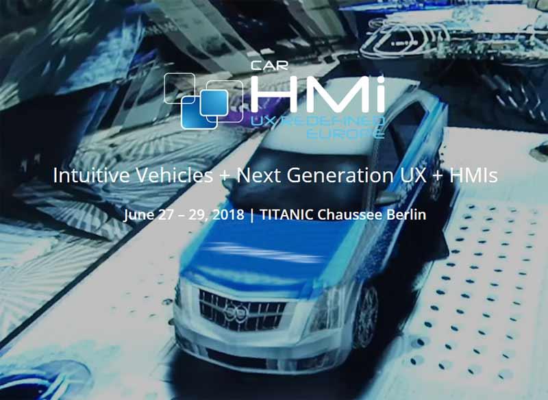 Meet us at Car HMI Europe