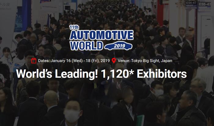 SESA at Automotive World in Tokyo