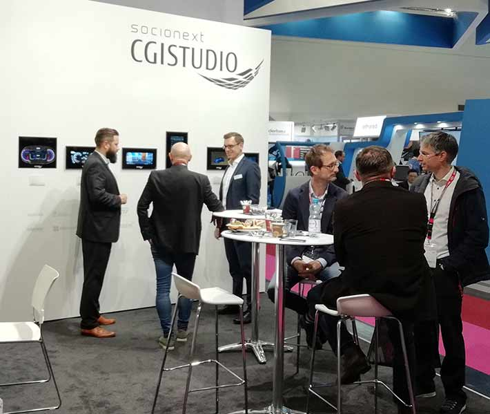 Successful premiere at Electronica 2018