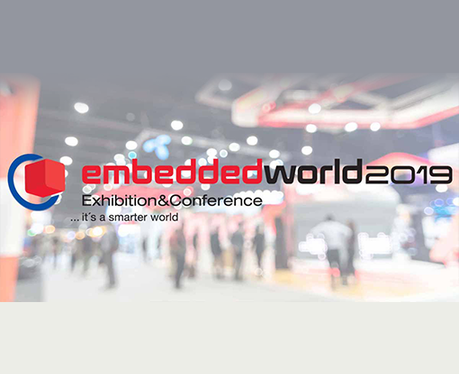 Meet us at Embedded World 2019