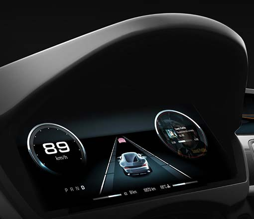 Candera CGI-Studio Automotive Cluster IVI