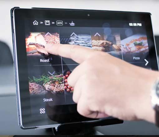 Candera Smart Oven UI