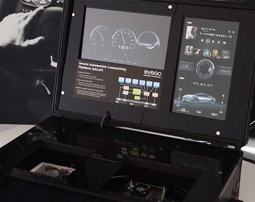 SYSGO and Candera present hypervisor based automotive HMI solution